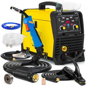 MIG Welder PULSE welding machine IGBT MAGNUM MIG 199 ALU Synergy 180 AMP MMA TIG