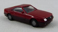 Mercedes-Benz 500 SL rot Herpa 1:87 H0 ohne OVP [K71]
