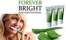 3 Pack Forever Bright Toothgel Aloe Vera with Bee Propolis