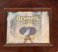 Vintage Olympia Beer Served Here Advertising Mirror