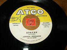 JORGEN INGMANN  & HIS GUITAR - APACHE - ECHO BOOGIE    / LISTEN - ROCK SURF
