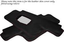 RED STITCHING FITS PORSCHE 911 912 1967-1968 2X SUN VISORS LEATHER COVERS ONLY