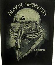 "Black sabbath dos écusson/backpatch # 1 ""u.s. tour 1978"""
