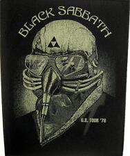 "BLACK Sabbath schiena ricamate/Back Patch # 1 ""U.S. Tour 1978"""
