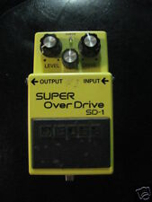 Boss Super Overdrive SD 1  KEELY MODIFICATION