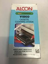 | VHS Tape | Alcon | Video Cassette Cleaning System | PAL |