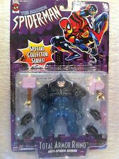 Rhino Figure.Spider-Man.Total Armor. Toy Biz.Super Rare.In new mint condition.