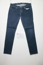 Levis Slight CurveCod. Y1860tg.47 W33 L34 jeans gebraucht niedrige Taille Frau