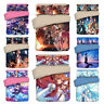 3PCS SAO Kirito Bedding Set Quilt Duvet Cover Pillowcase Comforter Cover Set