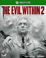 The Evil Within 2 USED SEALED (Microsoft Xbox One, 2017)