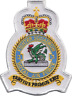 No. 3 (F) Squadron Royal Air Force RAF Former White Crest MOD Embroidered Patch
