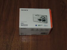 Open Box - Sony Cyber-Shot DSC-W830 20.1 MP Camera - BLACK