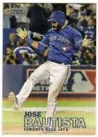2016 Topps Stadium Club Baseball #30 Jose Bautista Toronto Blue Jays
