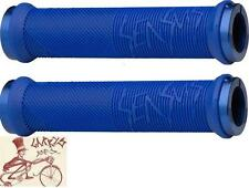 ODI SENSUS DISISDABOSS LOCK-ON BLUE BMX-MTB BICYCLE GRIPS