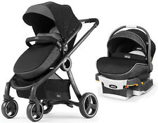 Chicco Urban Stroller w/ Keyfit 30 Zip Infant Car Seat Travel System Minerale