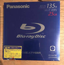 Panason Video Blu-ray BD-RE Disc Rewritable  BS135 25G NEW SEALED FREE SHIPPING