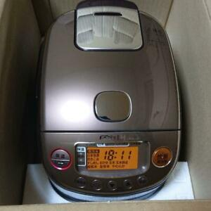 Zojirushi NP-RL05-TA rice cooker pressure IH type color brown USED from japan