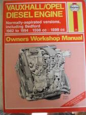 Haynes Manual - Vauxhall / Opel Diesel Engine  normally aspirated versions 82-94