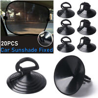 Balloon Decor Wall Rack Car Sunshade Fixed Suction Cup Cable Fasten Clips