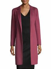 MAX MARA Women's Unanime Fuchsia Wool/Angora Coat Sz 4 $2,850 NWT