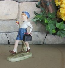 Norman Rockwell 1979 Figurine Dave Grossman Designs Teacher's Pet