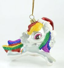 My Little Pony Rainbow Glass Christmas Ornament NEW