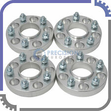 4pc | 25mm (1 inch) | Hubcentric Wheel Spacers | 5x114.3 | 5Lug | Honda & Acura