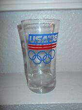 New listing Usa 1988 Olympics Vintage Glassware