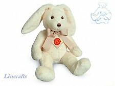 Sitting Floppy Cream Bunny Plush Soft Toy by Teddy Hermann Collection. 93785