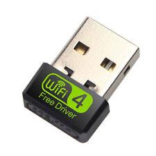 150Mbps Wireless USB Ethernet PC WiFi AC Adapter Lan 802.11 Dual Band 2.4G / .gu