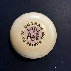 Vintage Duncan YO-YO Little Ace Return Top 2 inch diameter