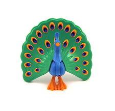 Playmobil~Peacock~Open~Park~Zoo~Tropical~Animal~Bird~Princess~Dollhouse~Rare