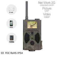HC 500M 12MP GPRS GSM SMS HD Wildlife Hunting Trail Camera Infrared Vision Scout