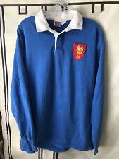 Vintage France National Rugby Team '80s Jersey Shirt Medium Nike