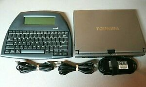 Toshiba Portege M700 Touch Screen Notebook Laptop with AlphaSmart Neo2
