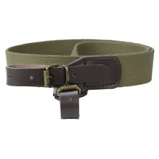 Canvas shotgun rifle sling strap bindings shoulder shooting tactical hunting