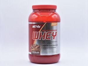Met-Rx 100% Ultramyosyn Whey 22g Protein Powder, Chocolate, 2lb, EXP: 08/2021