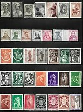 BELGIUM  BACK OF BOOK 35 DIFFERENT   MIXED CONDITION GROUP B17
