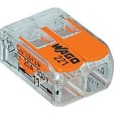 Wago 221 412 Lever Nuts 2 Conductor Compact Connectors 200 Pk