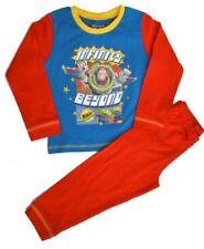 Pijamas y batas rojos conjunto de 100% algodón para niño de 2 a 16 años