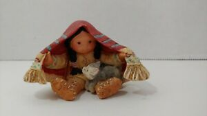 Enesco Friends Of The Feather Brothers of the Earth figurine 1994