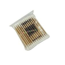 100 Pcs Double-head Wooden Cotton Swab Tip For Medical Cure Health Make-up Stick