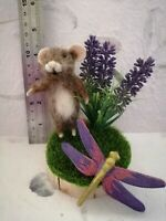 Ooak, Needle felted mouse, animal,teddy 🐀  handmade by debbie.