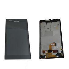 PANTALLA SONY XPERIA P LT22I (LCD,TACTIL,MARCO) 100% FUNCIONAL COLOR  NEGRO