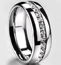 Diamond Stainless Steel Costume Rings