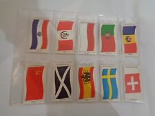 Vintage Sun Soccercards Flags of Soccer Nations 971 to 980 - set of 10