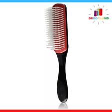 Brosse D3 7 Rangs Cheveux Soin Coiffure Brosses Peignes Brush Caoutchouc Coussin