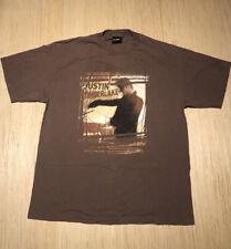 Vintage Justin Timberlake 2003 Justified Stripped Tour Brown Giant Tag Shirt Xl