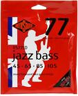 6-Pack Rotosound RS77LD Jazz 77 Monel Flatwound Long Scale Bas... Value Bundle for sale