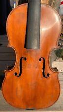 Superbe violon ancien - 18th. original neck - old violin - viola cello geige
